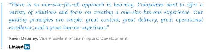 LinkedIn on talent development