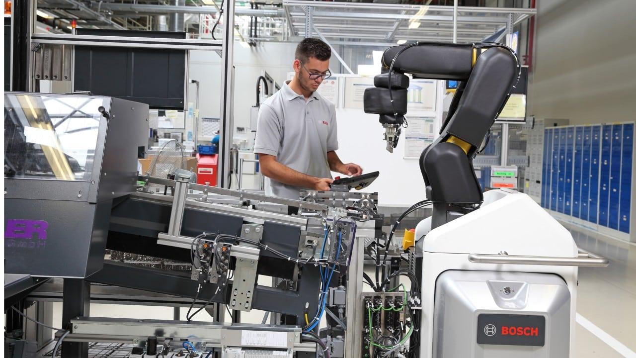 Bosch employee training