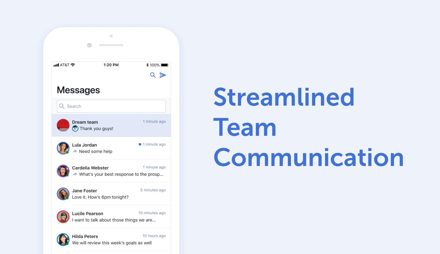 Streamlined Team Communication