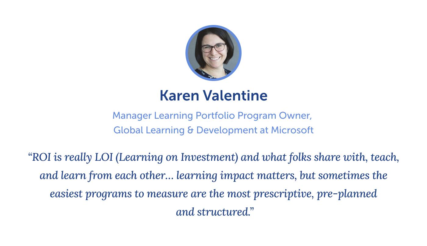 quote from Karen Valentine